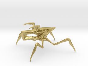 Starship Troopers Arachnoid 1/60 for games and rpg in Natural Brass