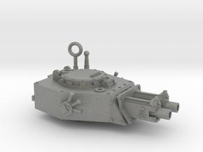 28mm Kimera turret x2 gyroject guns  in Gray PA12