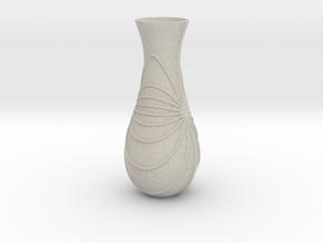 Vase-10 in Natural Sandstone