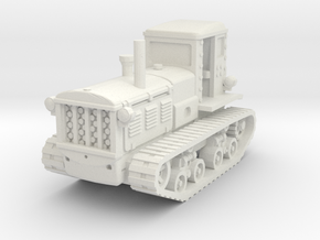 STZ 3 Tractor 1/87 in White Natural Versatile Plastic