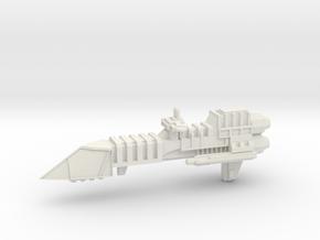Imperial Frigate - Concept C  in White Natural Versatile Plastic
