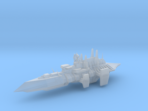 Chaos Renegade Escort Ship - 3 in Smooth Fine Detail Plastic