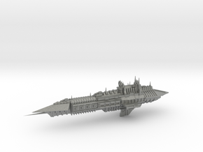 Chaos Heavy Frigate- Imperial Renegade - Concept 2 in Gray PA12