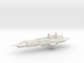 Chaos Cruiser Imperial Renegade - 5 in White Natural Versatile Plastic