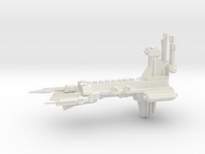Chaos Escort - Concept D in White Natural Versatile Plastic
