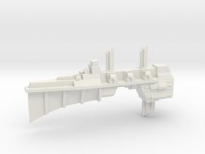 Chaos Escort - Concept C  in White Natural Versatile Plastic