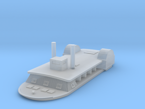 1/1000 USS Tuscumbia in Smooth Fine Detail Plastic