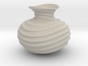 Vase-11 in Natural Sandstone
