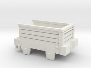 00 Scale Derwent Coal Tender Scratch Aid in White Natural Versatile Plastic