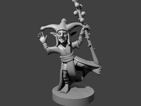 Goblin Jester in Smooth Fine Detail Plastic