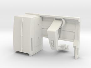 1/64 Milking Robot LH-4 in White Premium Versatile Plastic