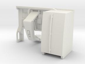1/64 Milking Robot RH-4 in White Premium Versatile Plastic