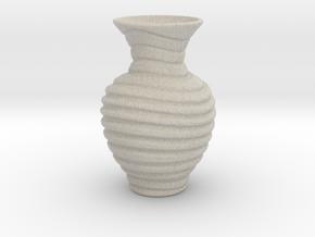 Vase-15 in Natural Sandstone