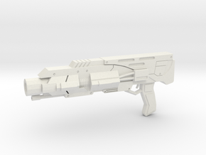 1:6 M27 Shotgun - Mass Effect in White Natural Versatile Plastic