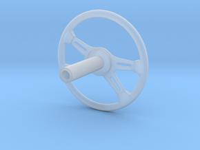 SteeringWheel-C in Smooth Fine Detail Plastic