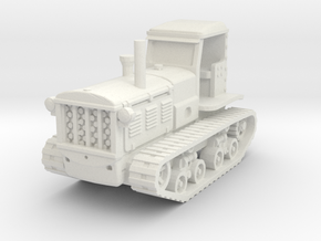 STZ 3 Tractor (late) 1/56 in White Natural Versatile Plastic