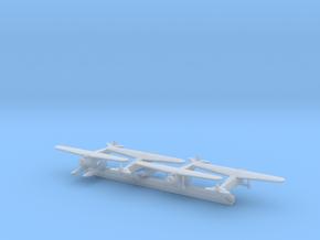 Fokker Super Universal/Ki-6/C2N x4 (FUD) in Smooth Fine Detail Plastic: 1:700