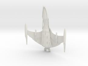 "Romulan VanCor Class WarBird  8.2"" in White Natural Versatile Plastic"