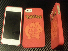 Pokemon Case for IPhone 5 (Charmander Evo. Ver.) in White Strong & Flexible Polished
