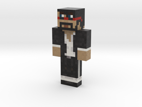 CaptainSparklez | Minecraft toy in Natural Full Color Sandstone