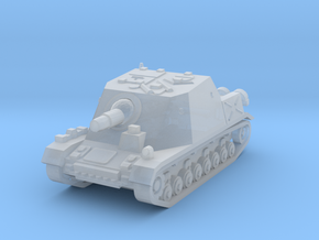 Brummbar Tank 1/144 in Smooth Fine Detail Plastic