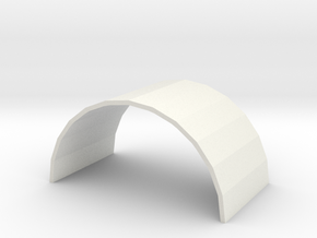 N Atlas Viaduct Inside Arch in White Natural Versatile Plastic