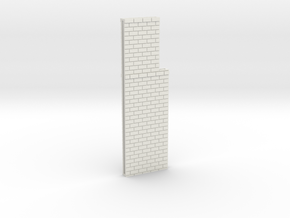 N Atlas Viaduct Straight Walls in White Natural Versatile Plastic