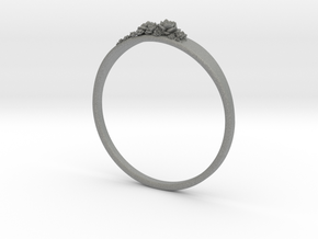 Succulent Ring in Gray PA12