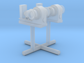 1/350 USN Boat Winches Set in Smooth Fine Detail Plastic