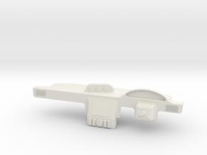 Dash Board 2.0 in White Natural Versatile Plastic