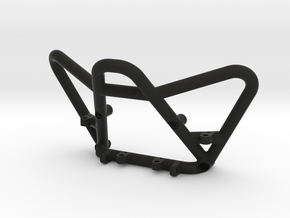 Axial Wraith Front Bumper with LED and Shackle Mts in Black Natural Versatile Plastic