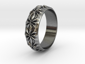 Clementine - Ring - US 9 - 19 mm inside diameter in Antique Silver: 9 / 59