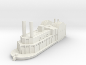 1/600 USS Switzerland in White Natural Versatile Plastic