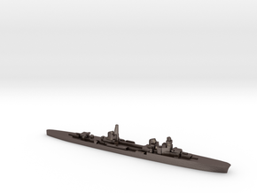Duca d'Aosta light cruiser 1:2400 WW2 in Polished Bronzed-Silver Steel