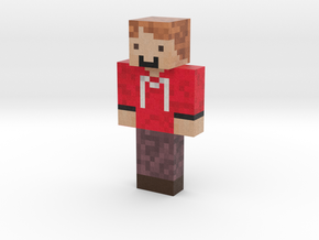 MaxTheMinerBoy   Minecraft toy in Natural Full Color Sandstone