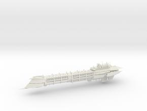 Imperial Legion Long Cruiser - Armament Concept 14 in White Natural Versatile Plastic