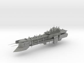 Imperial Legion Super Cruiser - Armament Concept 5 in Gray PA12