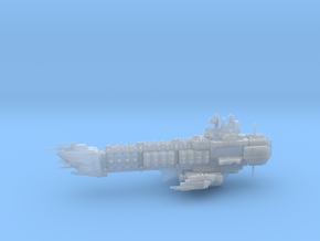 Navy Alternative Capital Cruiser - Concept 2  in Smooth Fine Detail Plastic