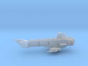 Navy Alternative Capital Cruiser - Concept 1 in Smooth Fine Detail Plastic