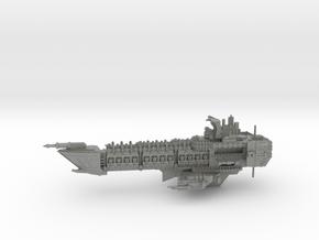 Navy Alternative Capital Cruiser - Concept 1 in Gray PA12