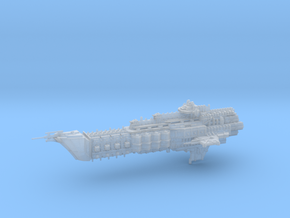 Navy Alternative Cruiser - Concept 1  in Smooth Fine Detail Plastic