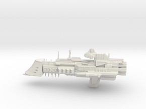 Dictator Class Cruiser in White Natural Versatile Plastic