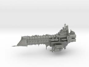 Capital Ship - Concept 2  in Gray PA12
