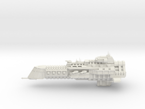 Imperial Legion Cruiser - Concept 3 in White Natural Versatile Plastic