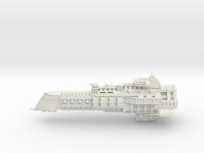 Imperial Legion Cruiser - Concept 4 in White Natural Versatile Plastic