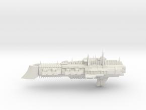 Imperial Legion Cruiser - Concept 10 in White Natural Versatile Plastic