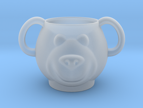 Bear Decorative Mug (downloadable) in Smooth Fine Detail Plastic