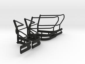 1-18_explorer_push_bumper_pit_wing in Black Natural Versatile Plastic