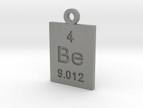 Be Periodic Pendant in Gray PA12
