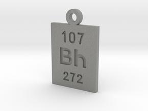 Bh Periodic Pendant in Gray PA12